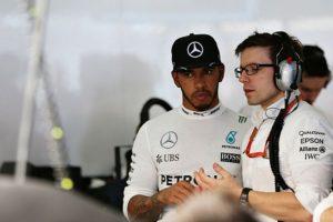El campeón Hamilton queda en último lugar de la parrilla. Foto:Getty Images