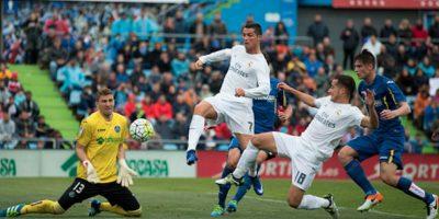 Cristiano Ronaldo marcó el quinto y último gol del cotejo. Foto:Getty Images
