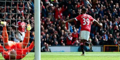 Marcus Rashford anotó el único tanto del encuentro, a los 32 minutos de juego. Foto:Getty Images