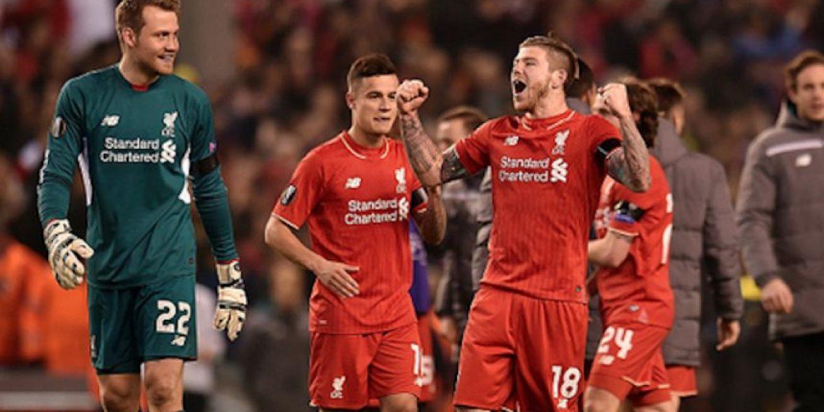 FOTO: Jugadores del Liverpool le