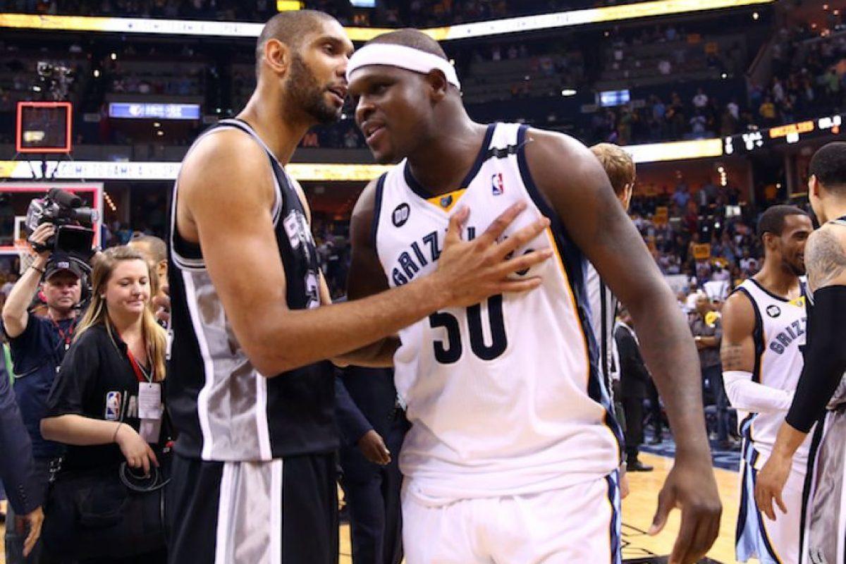 Spurs vs Grizzlies Foto:Getty Images