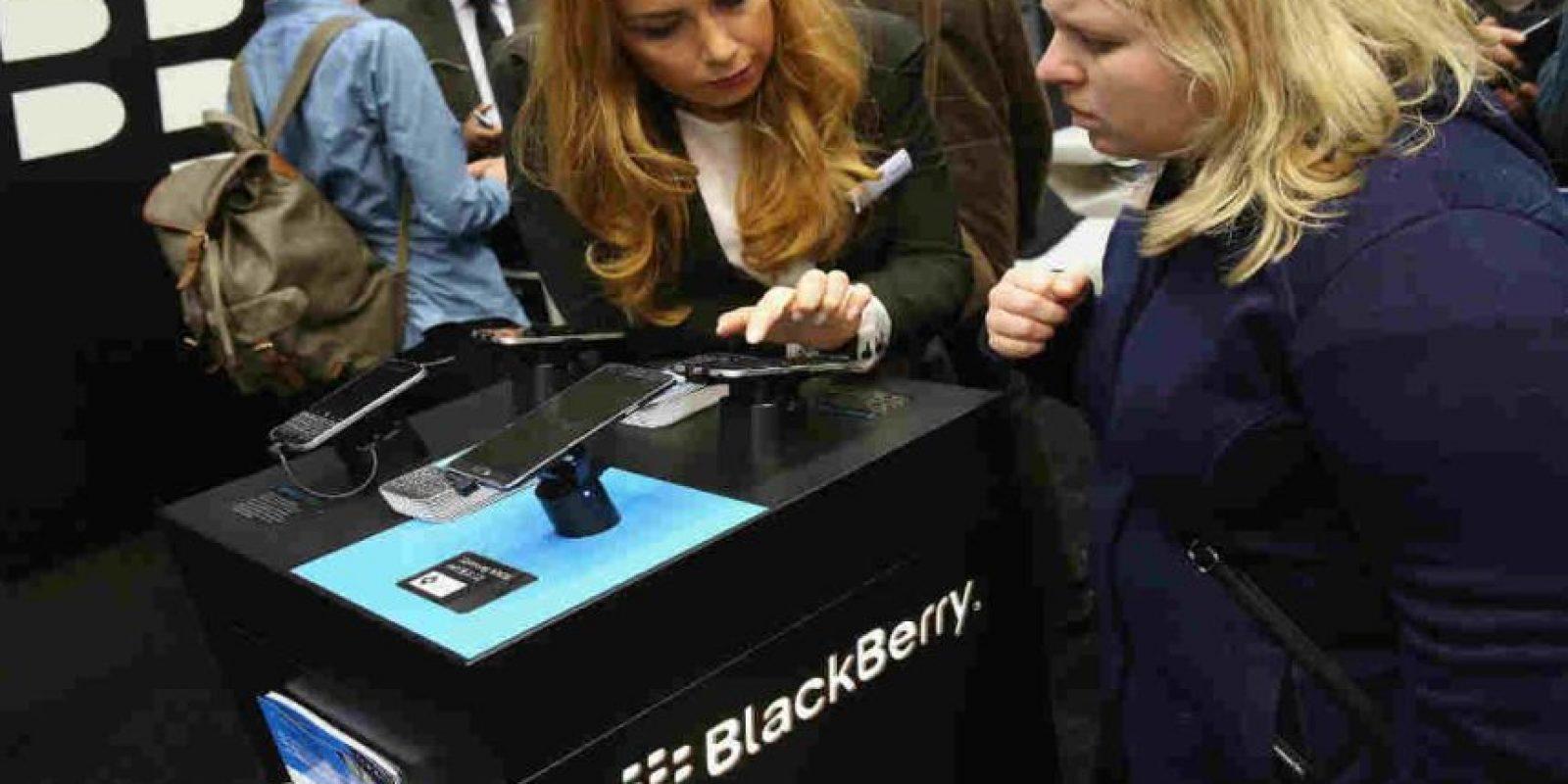 Hace años, los BlackBerry eran los smartphones más famosos. Foto:Getty Images