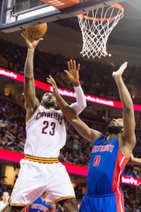 Cavaliers vs Pistons Foto:Getty Images
