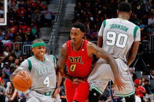 Hawks vs Celtics Foto:Getty Images