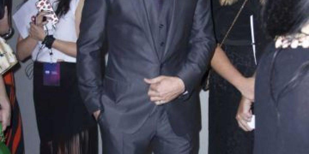 Colin Farrell y su fugaz paso por la alfombra en la CDMX