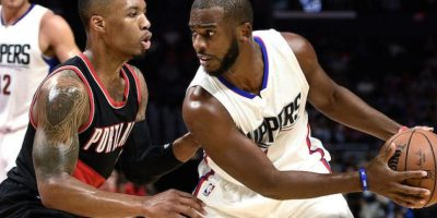 Clippers vs Blazers Foto:Getty Images
