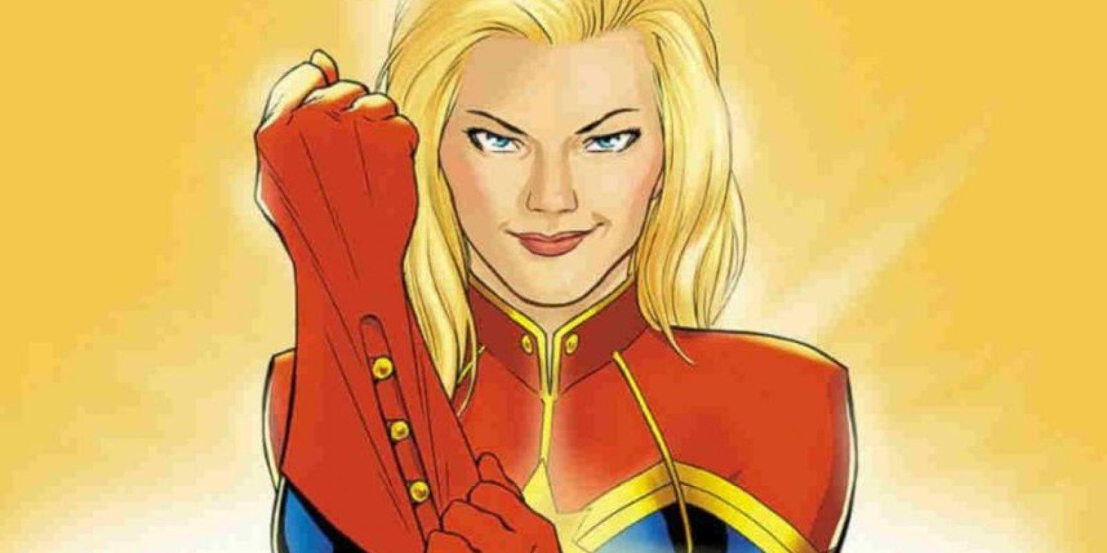 """""""Captain Marvel"""". Marzo 8, 2019. Foto:Marvel"""