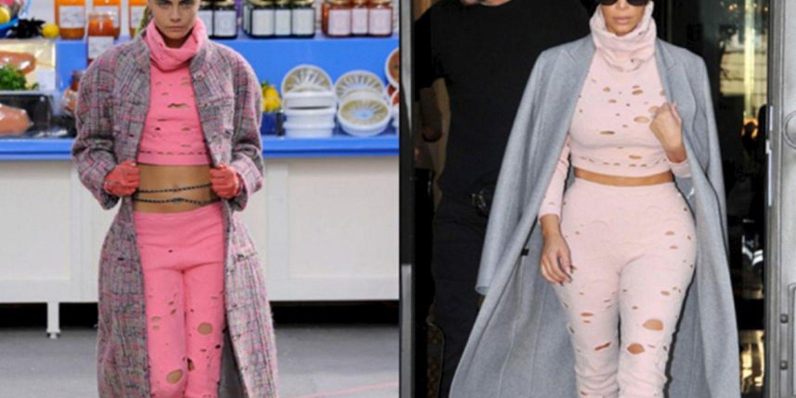 Chanel total fail. Foto:vía Kim Style Guide