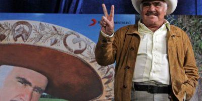 Vicente Fernández llega esta noche a la CDMX Foto:Cuartoscuro Archivo