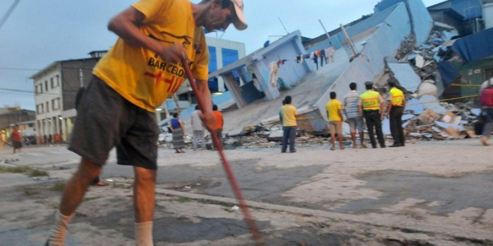 Hasta el momento se cuentan más de 200 fallecidos Foto:AFP