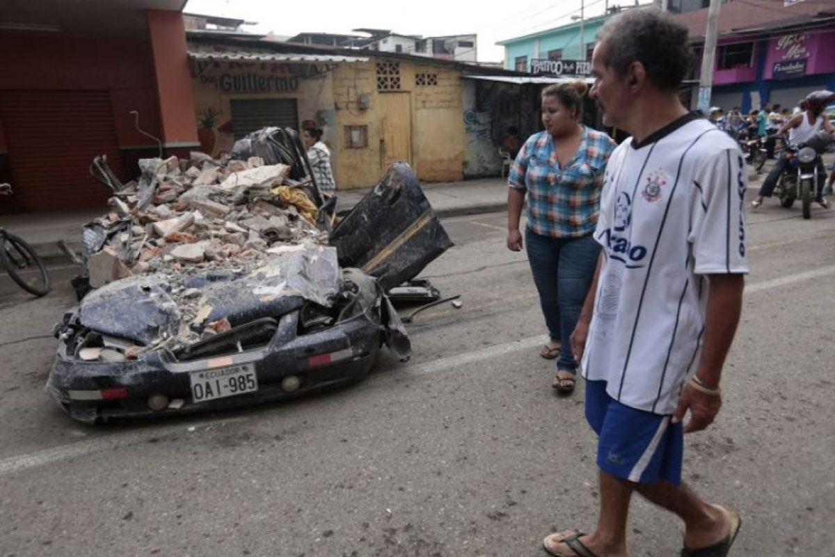 Y más de mil quinientos heridos Foto:AFP
