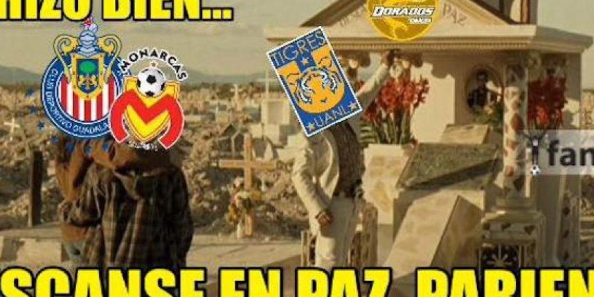 Con memes despiden a Dorados de Primera División