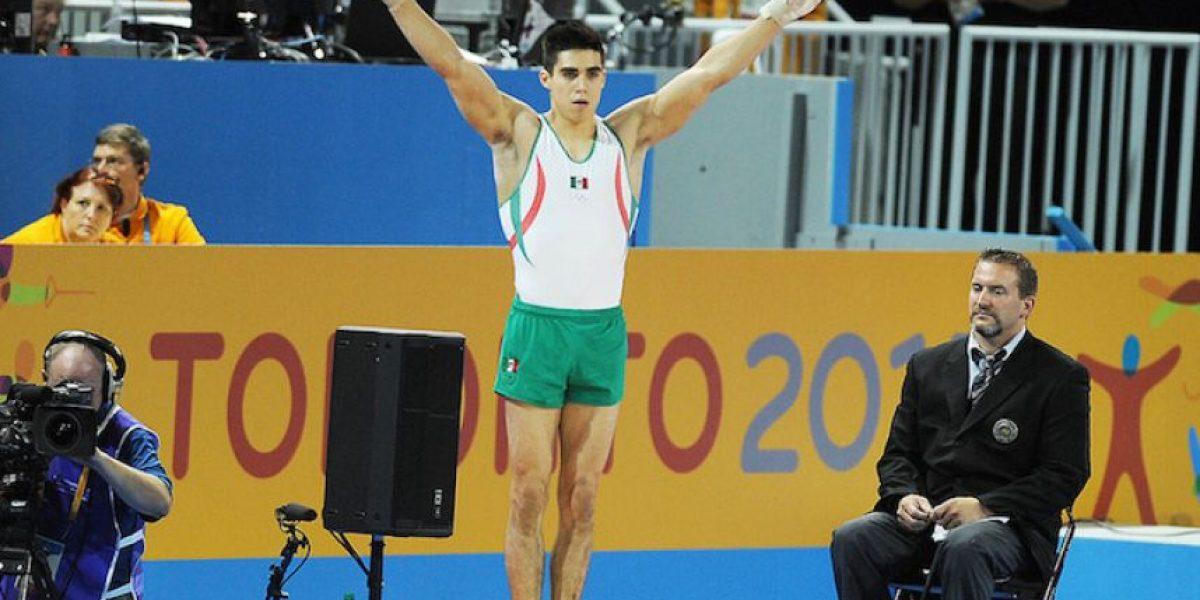Gimnasta mexicano Daniel Corral obtiene boleto para Río 2016