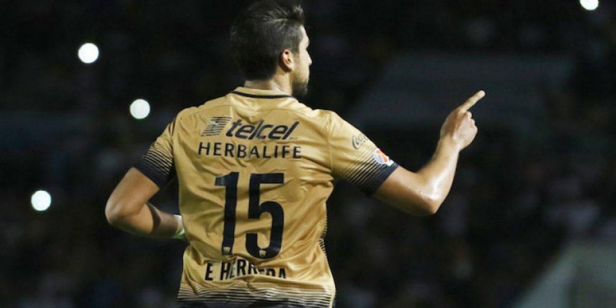 Doblete de Herrera y Pumas vuelve a la senda del triunfo
