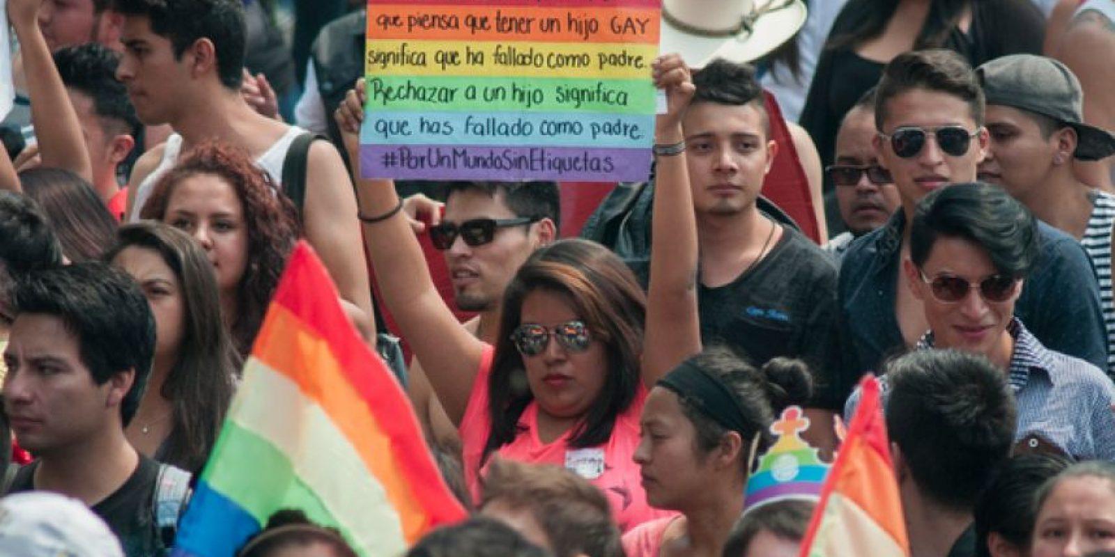 La movilización parte del Ángel de la Independencia al mediodía. Foto:Cuartoscuro/Archivo
