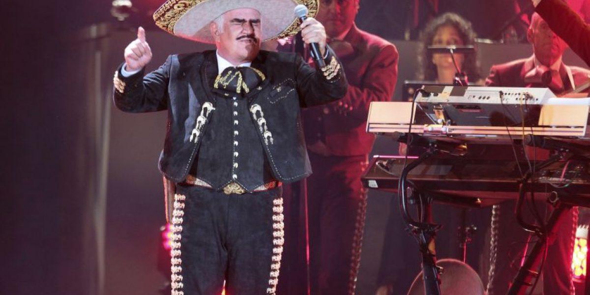 Así se vivió el concierto de Vicente Fernández en el Azteca