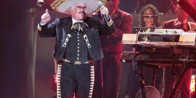 Vicente Fernández consintió a sus fans con todos sus éxitos. Foto:Notimex