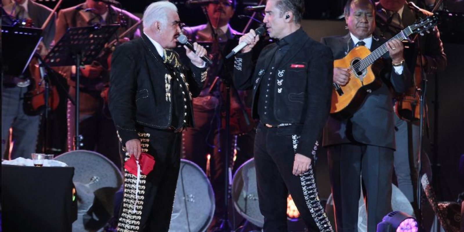El concierto duró casi cuatro horas. Foto:Notimex