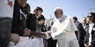 El Dirigente de la Iglesia Católica escuchó las historias de los refugiados Foto:cuartoscuro
