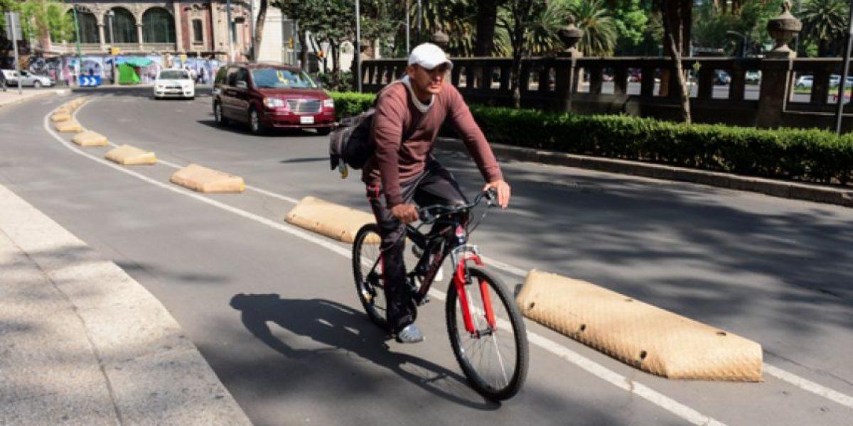 Mapean rutas ciclistas en la CDMX