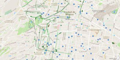 Más de 80 personas y 10 organizaciones ciclistas participaron en la construcción del mapeo Foto:Especial