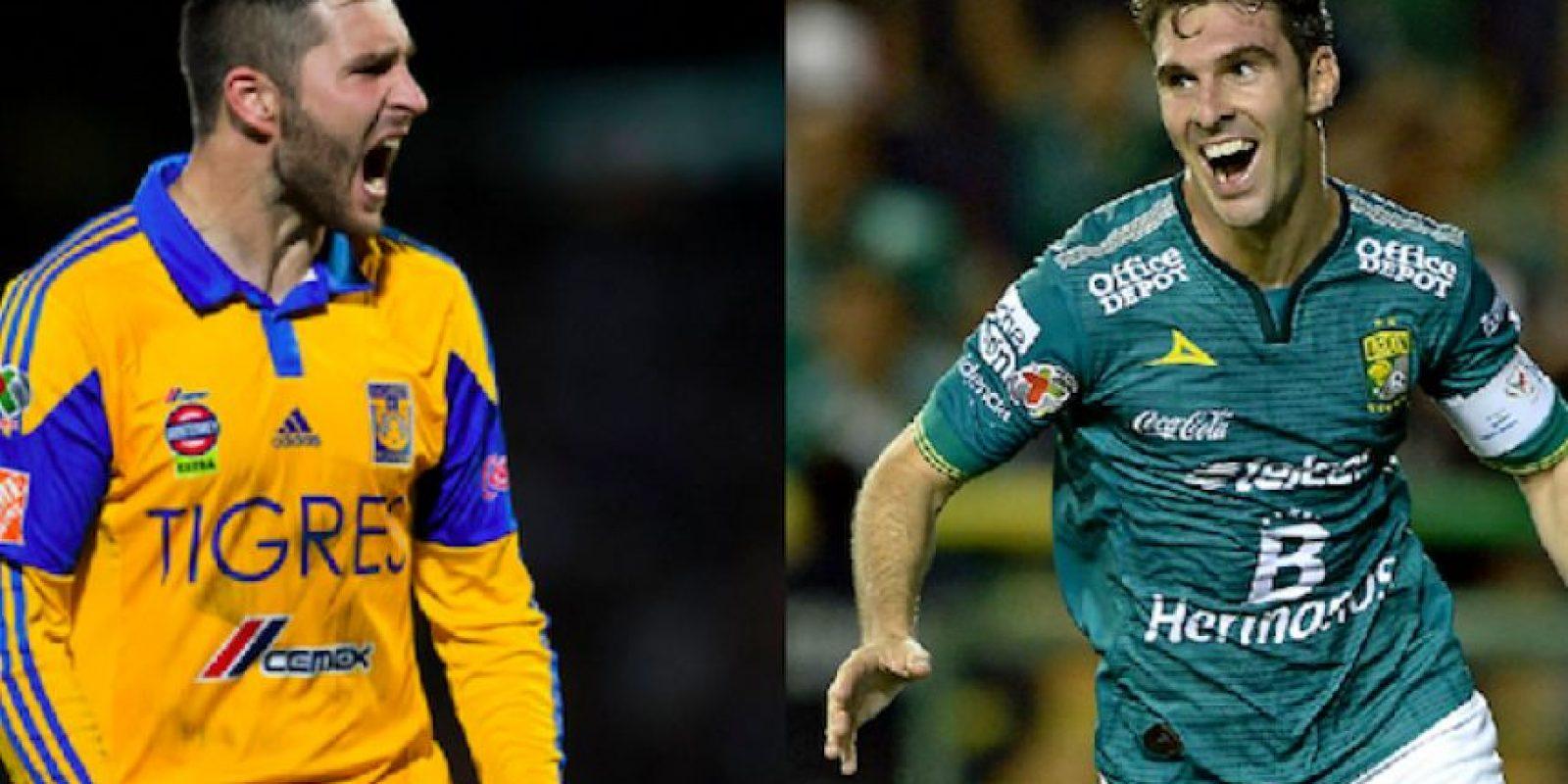 André-Pierre Gignac (Tigres) y Mauro Boselli (León) protagonizaron una peculiar conversación en Twitter. Foto:Especial