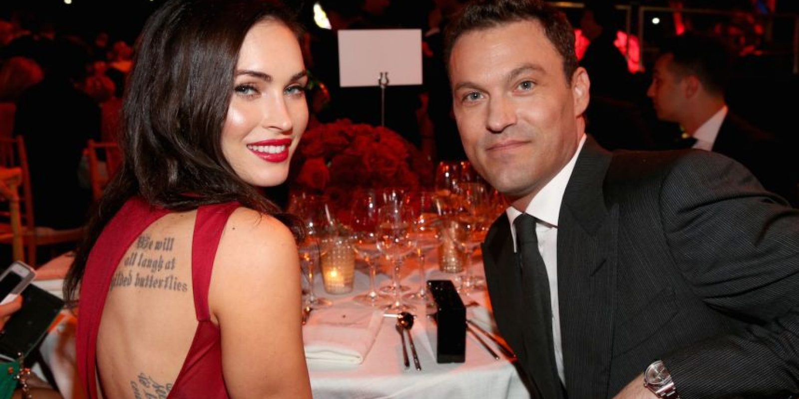 Austin Green y Megan Fox Foto: Getty Images