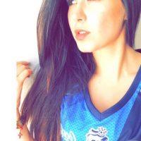 Conoce a esta bella aficionada del Puebla y Real Madrid Foto:Twitter: @Ana_LauraGP