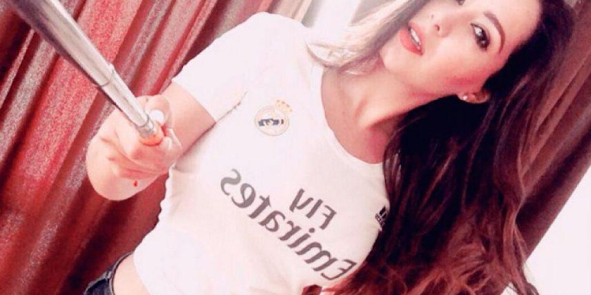FOTOS: Conoce a esta bella aficionada del Puebla y Real Madrid