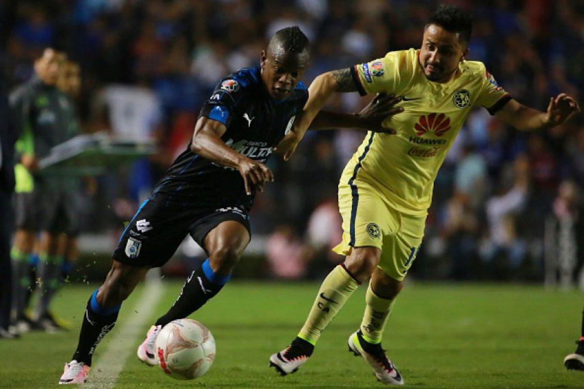 Querétaro termina con la buena racha de América Foto:Mexsport