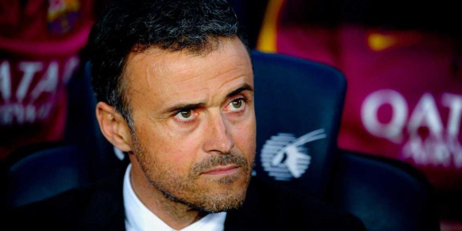 Muchos medios culparon a Luis Enrique de la eliminación de la Champions League al mandar a su equipo a especular, renunciando al estilo ofensivo que los caracterizaba. Foto:Getty Images