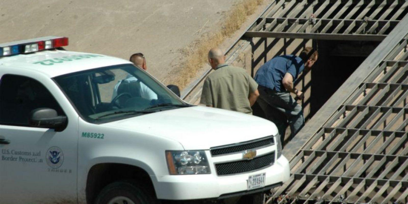 Agentes de la Patrulla Fronteriza de Estados Unidos confirmaron que el túnel llegaba a su territorio. Foto:Archivo Cuartoscuro