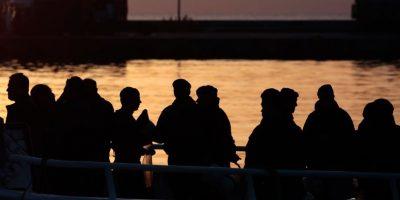 Hasta el momento solo han salvado a unos 30 migrantes Foto:getty images