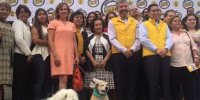 """La campaña se lanzó bajo el nombre de """"Poder chilango"""" Foto:@IfigeniaMtz"""