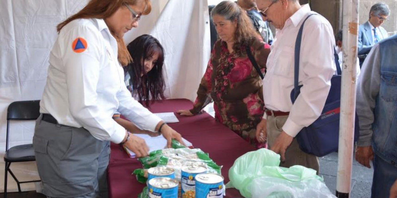 Se solicitan alimentos no perecederos, artículos de higiene y limpieza, entre otros Foto:Especial