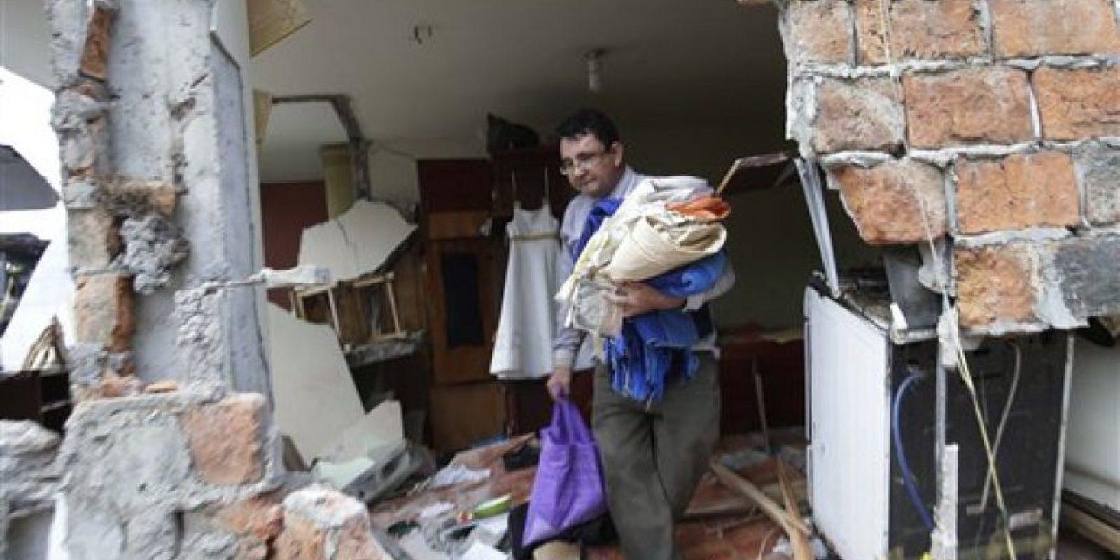 El sismo ha sido el más fuerte registrado en la zona desde 1979 Foto:AP