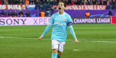 """""""El Principito"""" podría jugar ante Vitesse, este martes. Foto:Getty Images"""
