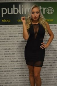 Daniella Chávez busca al equipo mexicano que la enamore Foto:Carmen Ortega/Publimetro