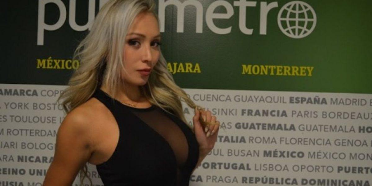 VIDEO: La sensual Daniella Chávez busca al equipo mexicano que la enamore