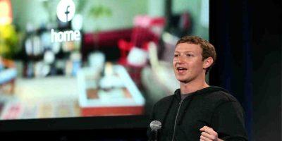 Mark Zuckerberg creó Facebook a los 19 años de edad. Foto:Getty Images