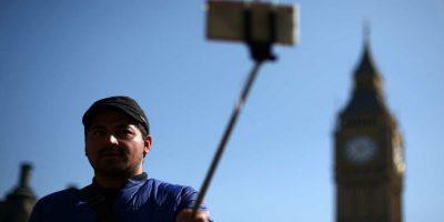 """El """"selfie-stick"""" es odiado y amado por miles. Foto:Getty Images"""