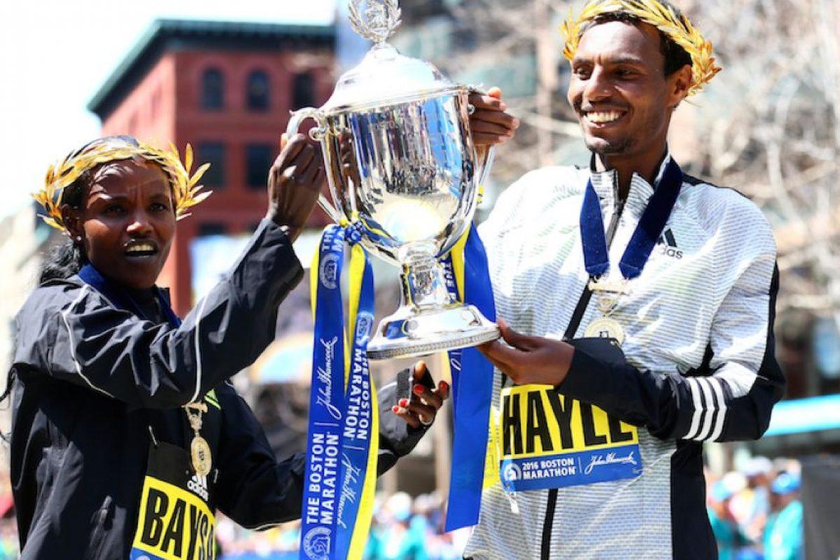 Etiopía conquista el maratón de Boston Foto:Getty Images