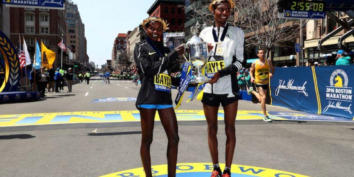 Etiopía conquista el maratón de Boston