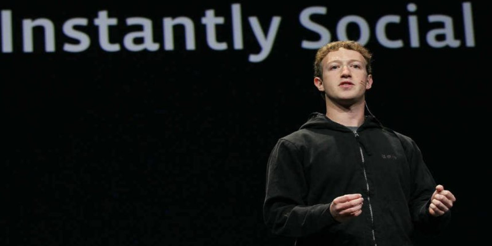 "Facebook se denominó originalmente ""The facebook"". Foto: Getty Images"