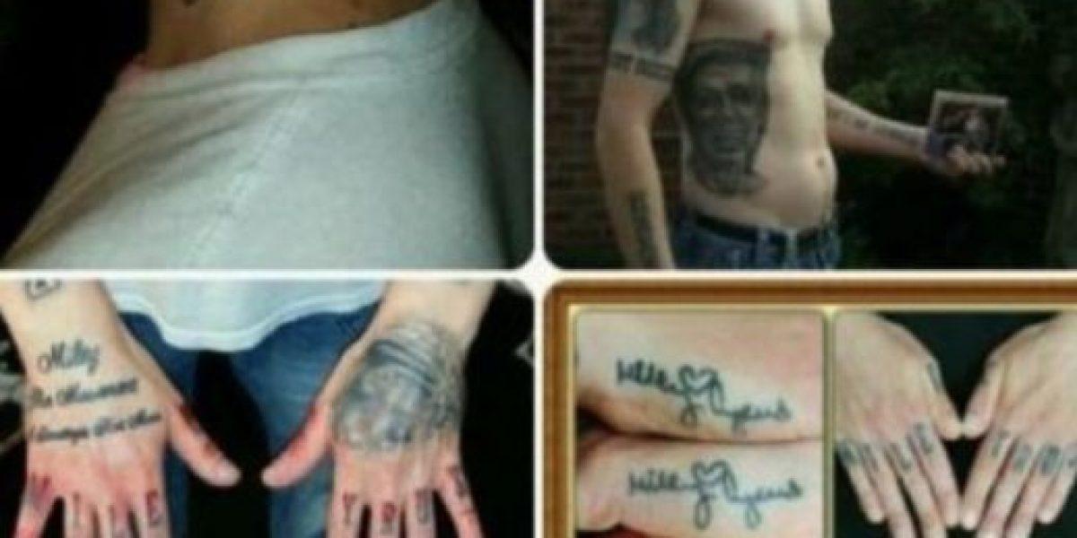 Fan se tatuó el brazo en honor a la línea de labiales de Kylie Jenner