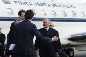 Reafirmo que esta en desacuerdo con la actitud del vicepresidente Michel Temer.