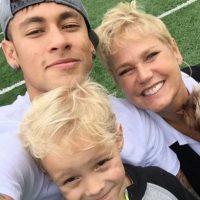 Durante sus primeros años de vida, Davy vivió con su madre en Brasil, y veía a Neymar varias veces al año. Foto:Vía instagram.com/neymarjr
