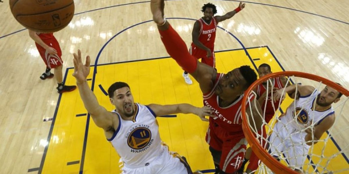 Sin Curry los Warriors se ponen 2-0 sobre los Rockets