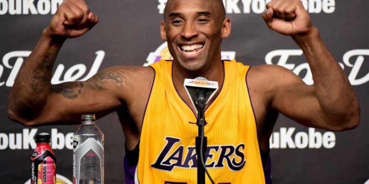 Subastan una bolsa de aire del último partido de Kobe Bryant