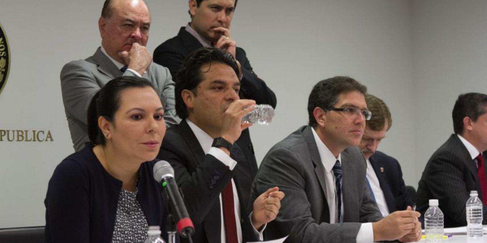 Los integrantes de las ONG se dijeron extrañados de la ausencia de los senadores. Foto:Cuartoscuro
